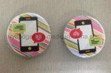 Divisa de encargo para la promoción, divisa de la insignia de la impresión (GZHY-LP-020) del estaño