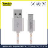 고품질 이동 전화 마이크로 USB 데이터 비용을 부과 케이블