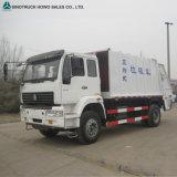 판매를 위한 Sinotruk HOWO 6X4 쓰레기 쓰레기 압축 분쇄기 트럭