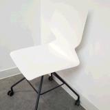 Стильный пластиковый 360-градусное поворотное кресло Office