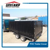 Double Stitched Reinforced Ultraviolet Light Resistant PVC Trailer Cover