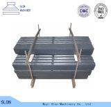 Barre élevée de coup de pièces de broyeur à percussion d'acier de manganèse
