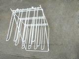 Os ganchos de suspensão do fio metálico de prateleira de produtos aparelhos de pequeno escritório Racks de exibição