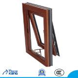 Ak110-01 apertura hacia el exterior de aluminio de aleación de aluminio de seguridad de la ventana