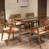 La vida moderna habitación Hotel Restaurante silla de comedor Muebles de madera (CH636)