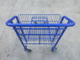 capacidade de carregamento 200kgs que transporta o trole com cestas do metal