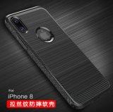 Neues Aluminium 2 der Ankunfts-Form-TPU in 1 flexibles Luxuxmetallstoßkasten für iPhone 8