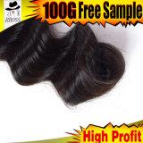 Оптовая торговля дешевые 6A индийского 8''-28''дюйм Реми волос человека