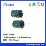 250V de Elektrolytische Hoge Frequentie 4000hours van de Condensator 3.3UF