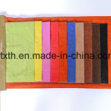 소파와 직물을%s 다채로운 셔닐 실 피스 염료 직물