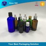 5ml 10ml 15ml 20ml 30ml 50ml 100ml frasco de óleo essencial de vidro com tampa de segurança de crianças