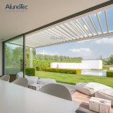 Алюминиевая рама сад на крыше жалюзи солнечную тень Пергола
