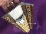 Iraq Hot vender PS el diseño de la cornisa del techo de la línea de moldura en color madera