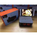 Поддержка гарнитуры Bluetooth USB-TF карты с будильником держатель телефона
