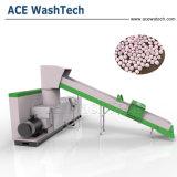 고용량 PP PE 필름과 조각 플라스틱 재생 광석 세공자