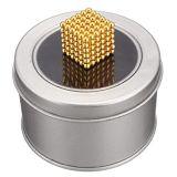 Bola permanente del imán del neodimio de la capa del níquel N48