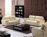 ヨーロッパの現代部門別のソファーの黒の革ソファー701#