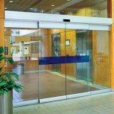 Австралийский стандарт Дешевые автоматических раздвижных дверей низкой цене используется опускное стекло двери продажа