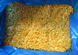 Gefrorener gelber Pfirsich