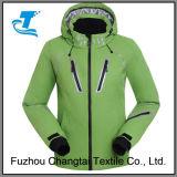 Напольные лыжа женщин/куртка снежка с клобуком