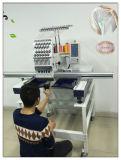 Machine de broderie de chapeau de T-shirt automatisée par tête simple avec 12/15 pointeau