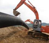 Mit hoher Schreibdichte doppel-wandiges PET Rohr für Wasser-Erhaltung-Projekt