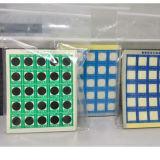 열이 서류상 온도 88 도에 의하여 Multiwindow PVC 과민한 변경 색깔 스티커이라고 레테르를 붙인다
