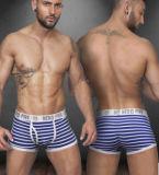 Горячая продажа очаровательный полосатый Боксерские шорты Sexy мужчин в нижнее белье бокса