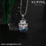 Цепочка-00419 Xuping Lucky Cat ожерелья, кристаллы с кристаллами Swarovski Schmuck, ювелирные изделия