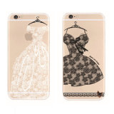 Het Geval van Betty Lace Cartoon TPU Phone voor iPhone6/6s/7/7plus