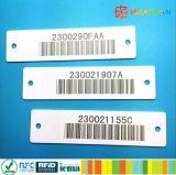 EPC1 Gen29662 exotiques H3 vêtements de confection de vêtements UHF RFID Tag