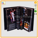 Impresión de encargo profesional del libro del arte del Hardcover (OEM-GL043)