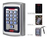 Telclado numérico independiente impermeable del control de acceso de la aleación del cinc