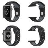 Schnelle Freigabe-justierbares Silikon-Uhrenarmband für Apple