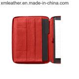タブレットのポケットが付いている専門ビジネスオルガナイザーのポートフォリオ
