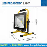 고성능 옥외 조경 40W 비용을 부과 투광램프를 점화하는 LED