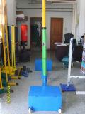 Commerce de gros Tennnis de volley-ball Badminton Colonne du support de poste avec Net pour la vente