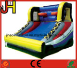Inflatable Goal Bungee Run with Basketball Hoop Sport Game