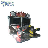 El equipo de parque de diversiones en llamas de 42 pulgadas de la máquina de juego de carreras
