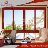 G&F Jinfu serie 80 de aleación de aluminio Ventana corrediza de vidrio aislante