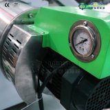 Pelotas plásticas que fazem a máquina para o recicl da película do PE dos PP
