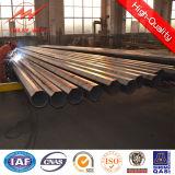pipe en acier galvanisée par 33kv Pôle pour la ligne de transport d'énergie