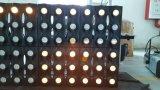 Luz de oro 36PCS LED de la viga de la matriz de Gbr 3W LED