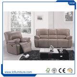 L'insieme europeo del sofà del cuoio di stile dal servizio della mobilia di Foshan ha impostato 3 2 1 sede