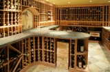 Cave de Customzied avec le Module en bois de vin de pin/chêne