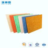écrans antibruits de fibre de polyester d'épaisseur de 2mm, panneau ignifuge pour le mur et plafonds