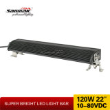 Protección IP68 120W Super brillante Barra de luces LED de fila única