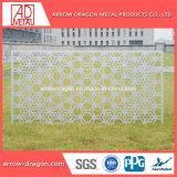 Нержавеющая сталь/ латунных перфорированных резного стекла панели для помещений с делителя