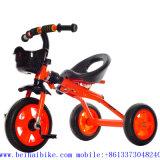 El buen Qualitythree policía motorizado de China juega el triciclo del bebé de Tricyle de los cabritos