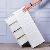 Caja de almacenamiento de gran armario de almacenamiento de cajón de ropa de plástico de la consolidación del almacenamiento de juguetes